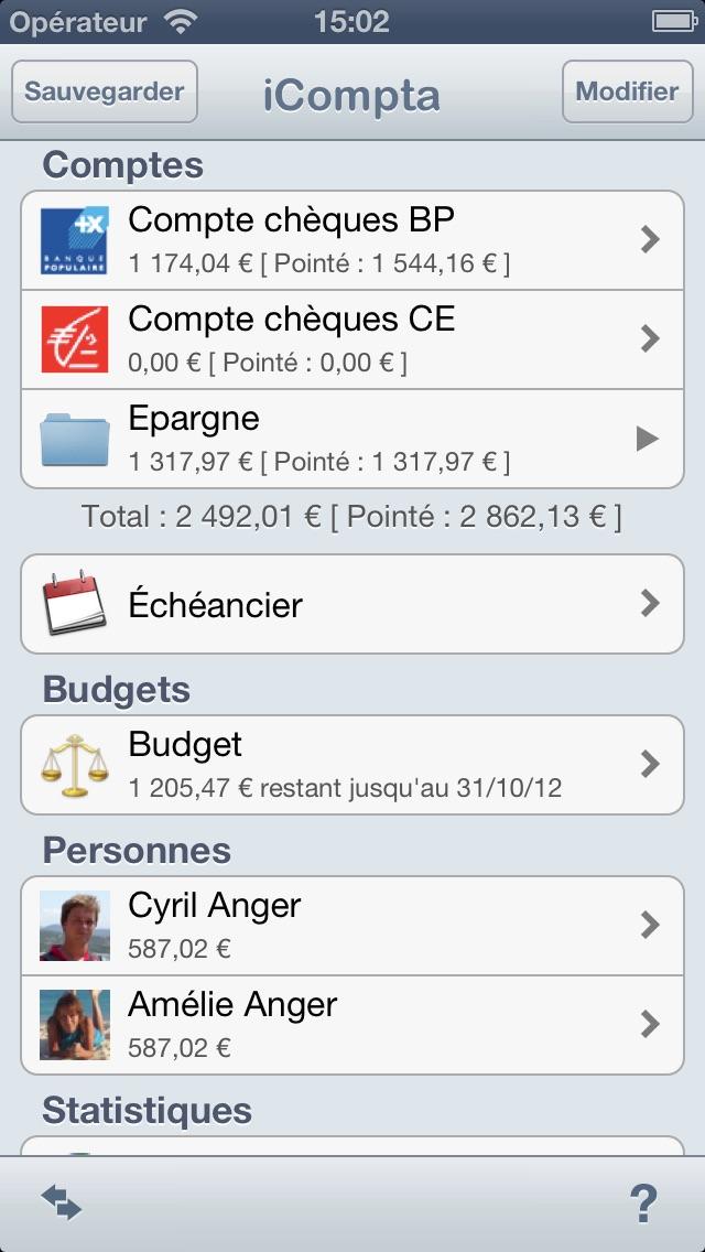 iCompta 2 screenshot1