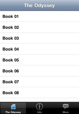 The Odyssey - Audio Book