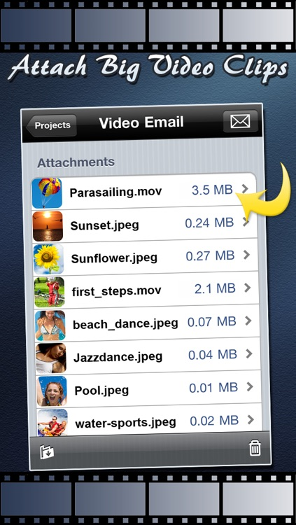 Video Email (+ Photos) : Videos & Multiple Photo Sharing through Email screenshot-3