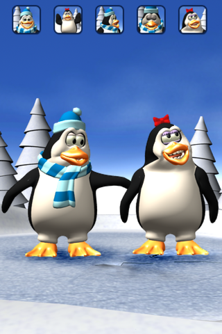 Talking Pengu & Penga Penguinのおすすめ画像3
