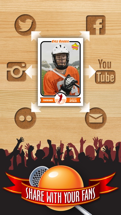 Lacrosse Card Maker - Make Your Own Custom Lacrosse Cards with Starr Cards screenshot-3