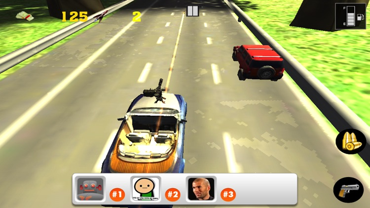 3D Road Rider Rivals: Furious Multiplayer Dune Riot Racing