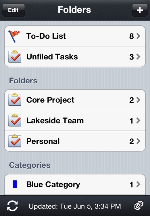 Todo® Exchange Tasks screenshot-1