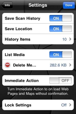 qwikScan - QR Code Reader Screenshot on iOS