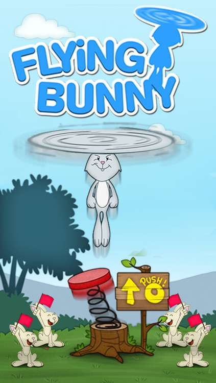 """Flying Bunny Top - by """"Best Free Addicting Games"""""""