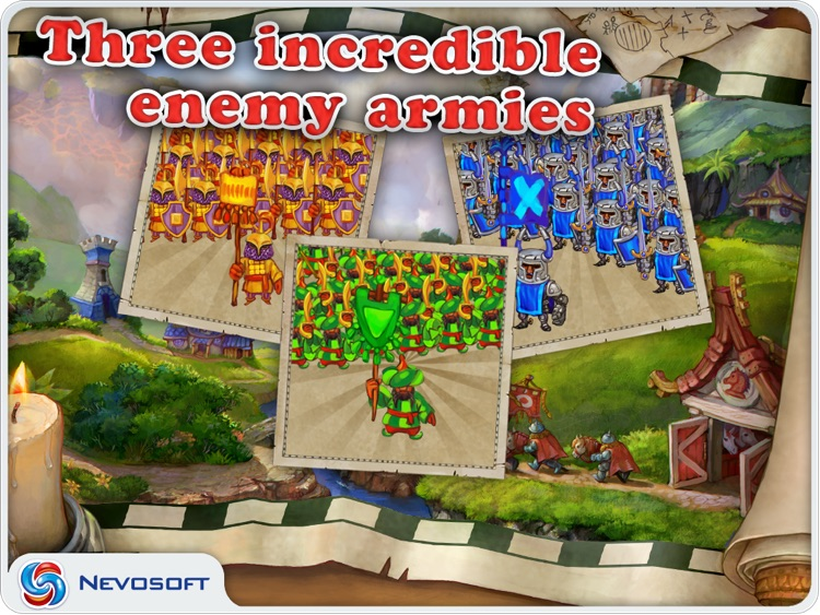 LandGrabbers: real time medieval conquest strategy screenshot-3
