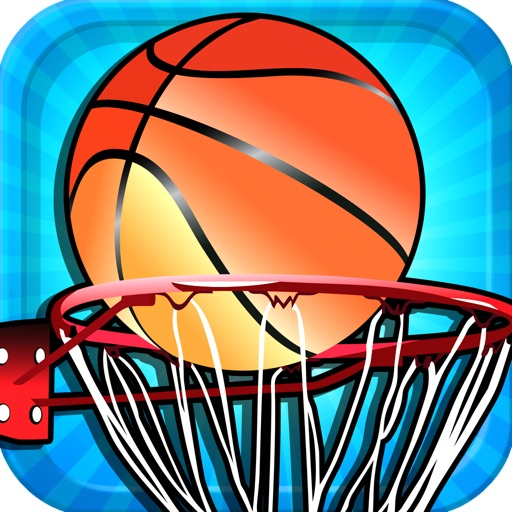 A Basketball Goal Flick It Superstar Pro Game Full Version icon