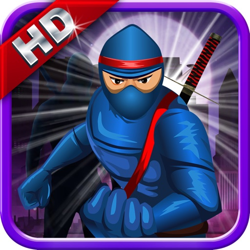Ninja Dark City Run-Free