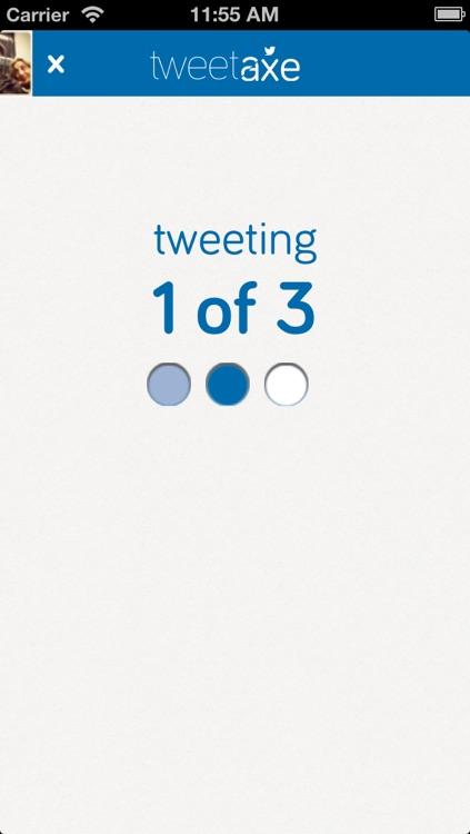 TweetAxe screenshot-4