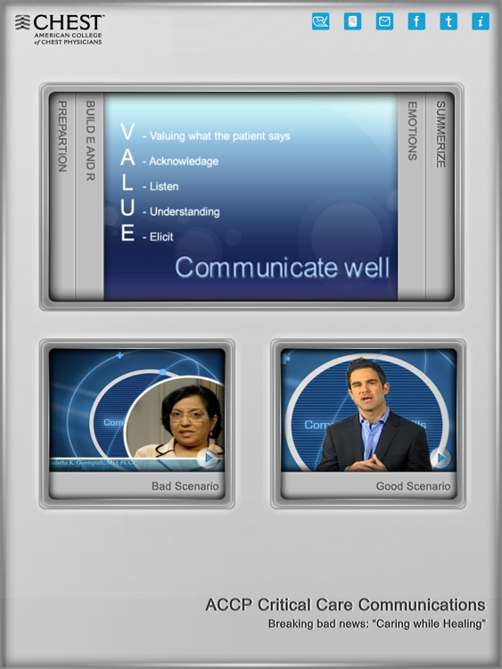 ACCP Critical Care Communications screenshot-1