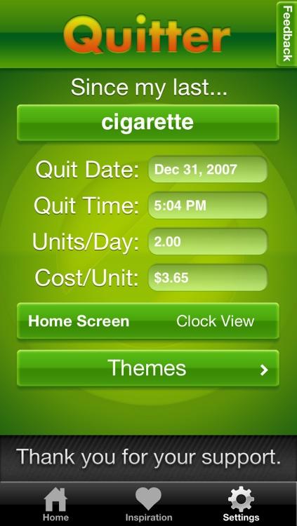 Quitter screenshot-4