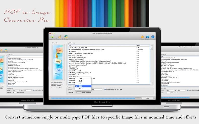 PDF to Image Converter Lite скриншот программы 1