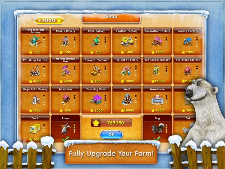 Farm Frenzy 3 – Ice Domain HD (Free) screenshot-3