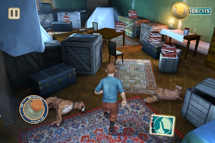 The Adventures of Tintin™ - The Game screenshot-4