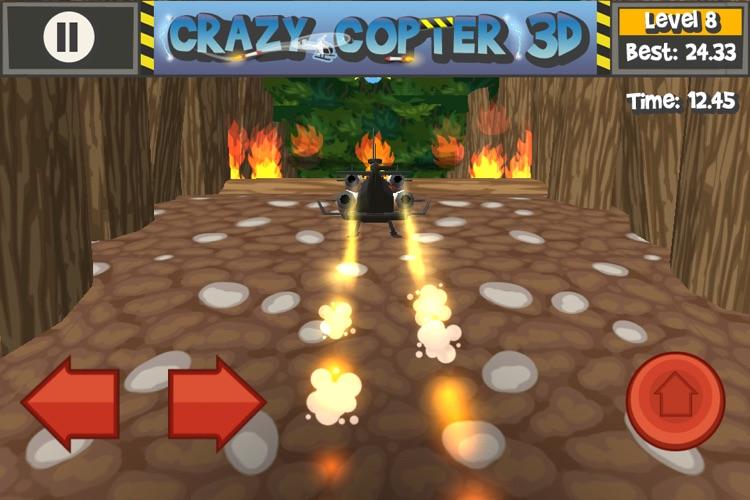 Paper Glider Crazy Copter 3D screenshot-3