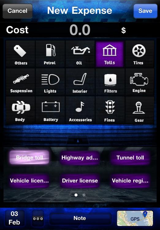 Car Xpenses - Manage car maintenance screenshot-4