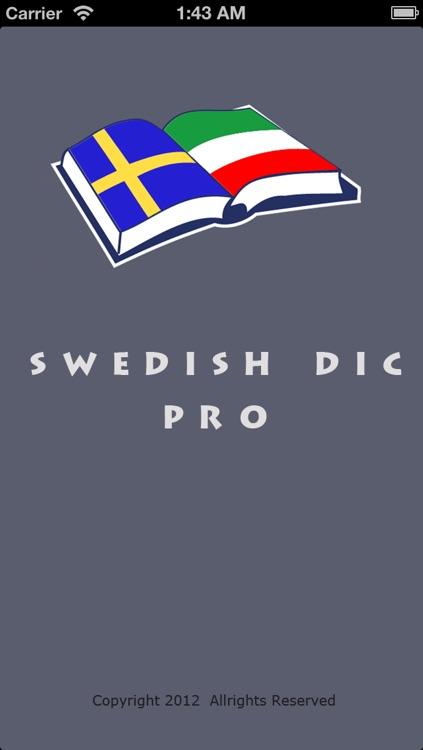Swedish Dic Pro