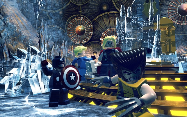 LEGO Marvel Super Heroes Screenshot