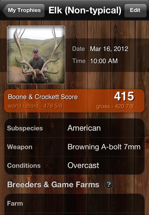 Trophy Score screenshot-4