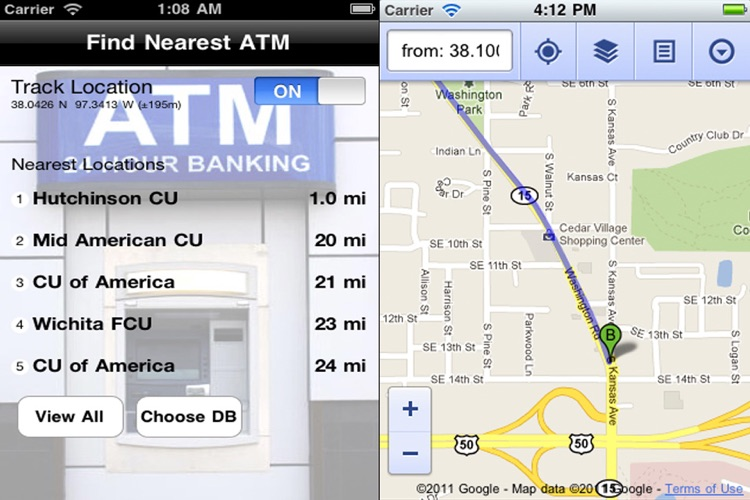 Find Nearest ATM