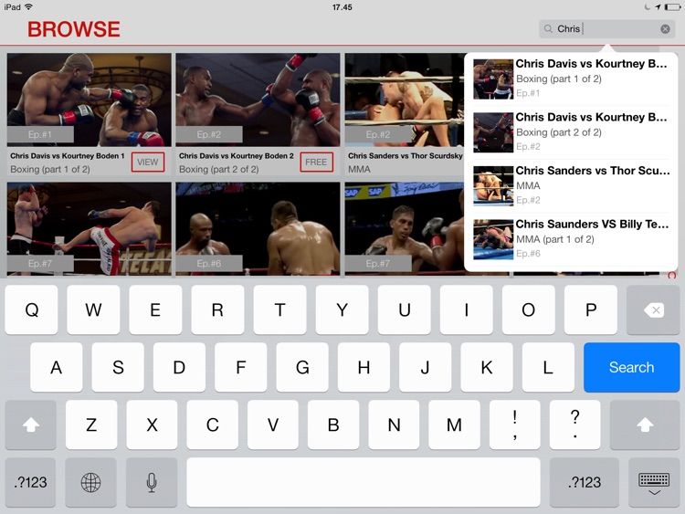 FightMaster: Boxing & MMA Videos for iPad screenshot-4