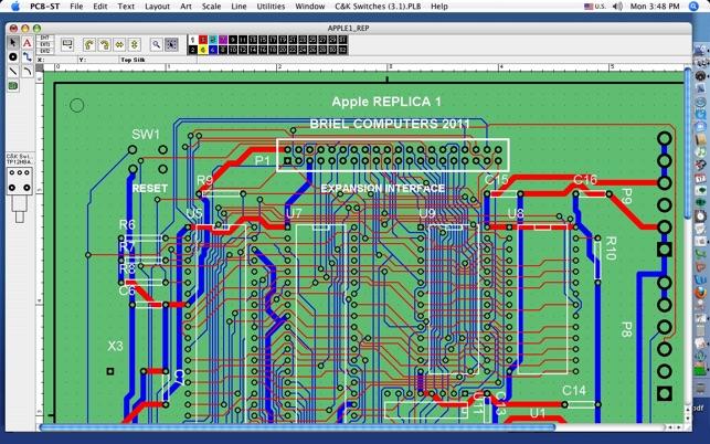 mac os x pcb design software