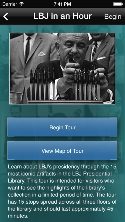 LBJ Presidential Library screenshot-3