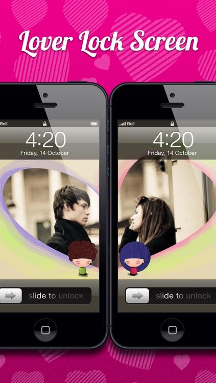 Lover Lock Screens