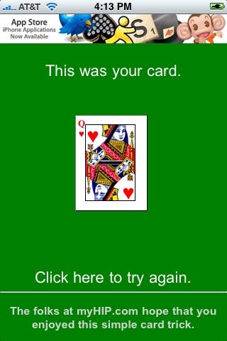 Magic Card Trick on myHIP screenshot-3