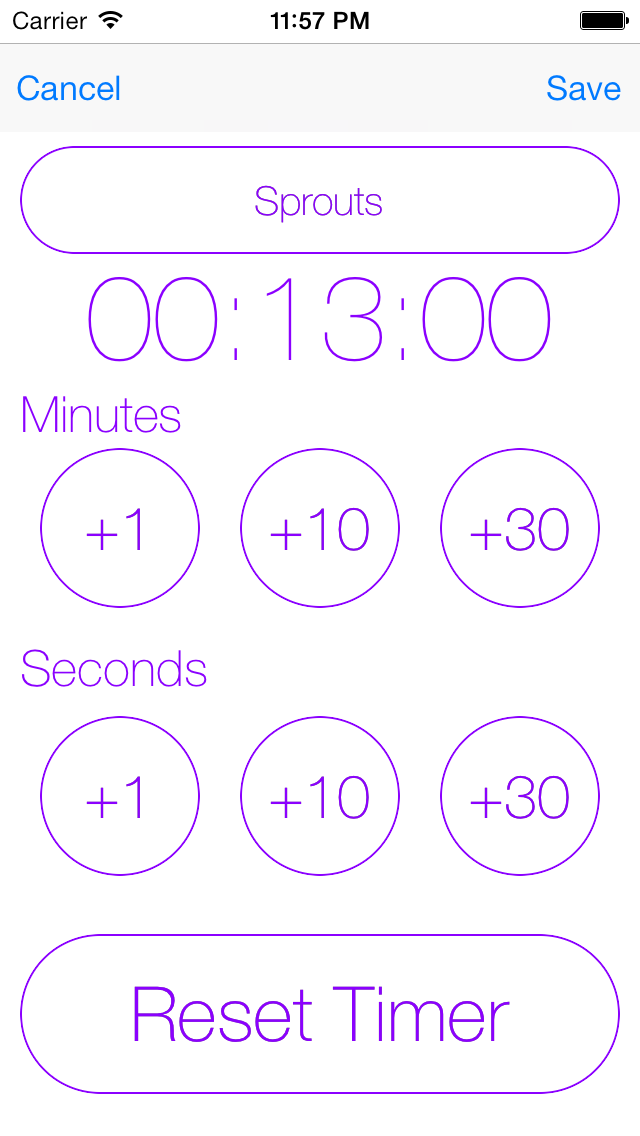 点击获取Simple Timer : The timer for iOS7