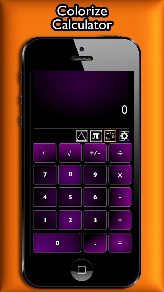 Calcolatrice Colorful