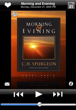 Morning and Evening: a daily audio devotional