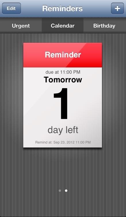 Reminder App