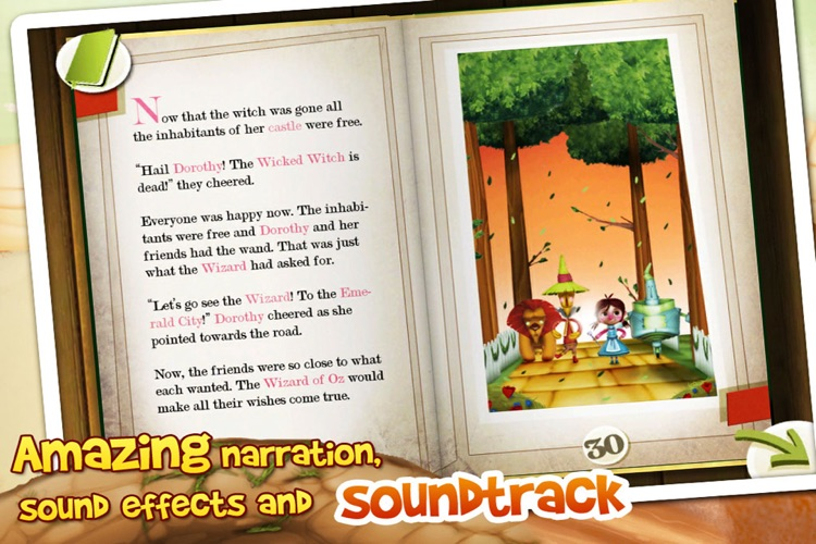 The Wizard of Oz Interactive 3D Pop Up Book screenshot-4