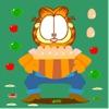 加菲猫接鸡蛋