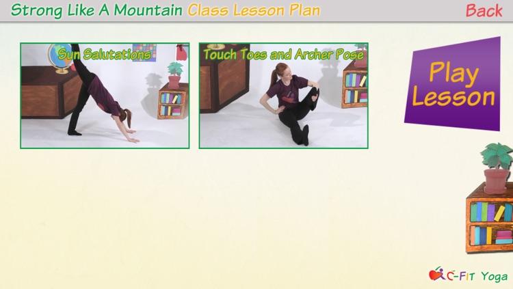 C-Fit Yoga - Classroom Fitness screenshot-3