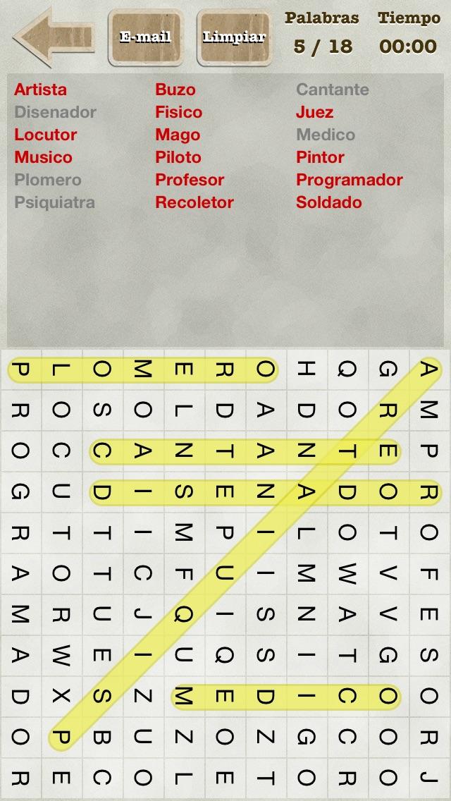 Sopa de Letras! screenshot1