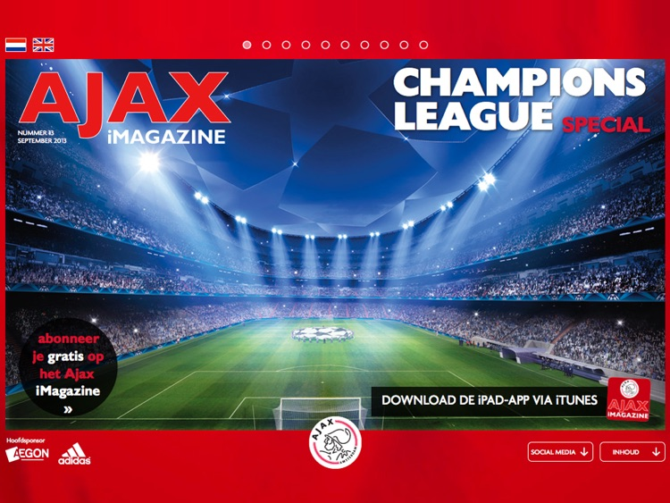 Ajax iMagazine App screenshot-0