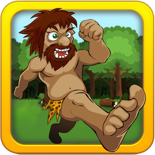 Dangerous Caveman Bum Runner
