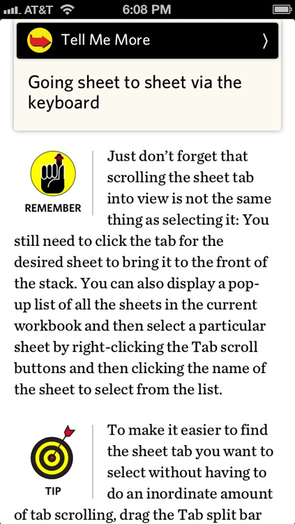 Microsoft Excel 2010 For Dummies - Official How To Book, Inkling Interactive Edition screenshot-4