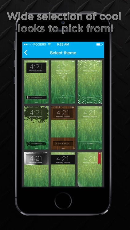 Lockerfy Pro - Lock Screen Sliders screenshot-4