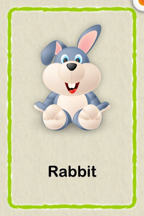Cute Baby Flash Cards : an educational app for kids in preschool and Kindergarten! Learn to identify animals, things, words, colors, count numbers and the alphabet!