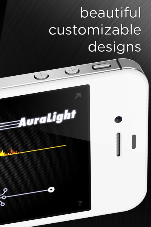 AuraLight - Music visualizer for DJ's, parties, and dancing to dubstep, house, techno, and electronica!
