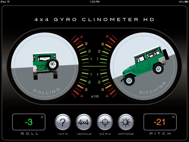 4x4 Gyroscope Clinometer HD