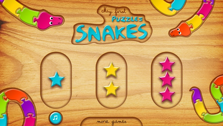 My First Puzzles: Snakes screenshot-3