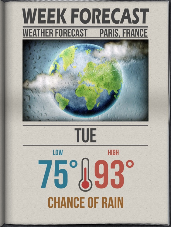 Daily Weather HD+ screenshot-4