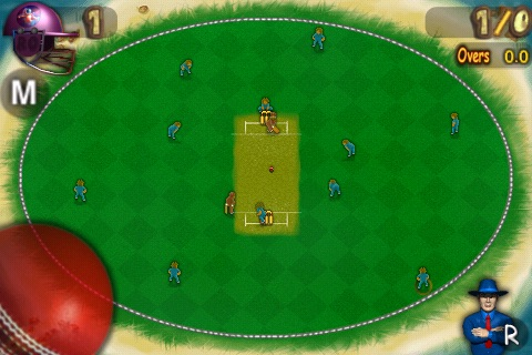 Cricket Twenty20 Lite - Bee's Vs Orbitors screenshot-4