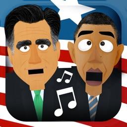 Singing Nutcracker : U-nut-ed States Edition - feat. President Obama, Mitt Romney & Uncle Sam