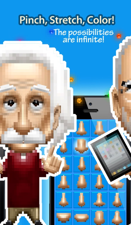 Pixelheads - Pixel Portrait Bobble Head Avatar Maker by Bobbleshop