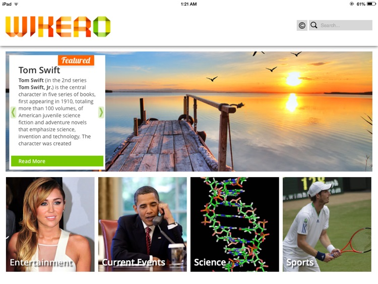 Wikero - Wikipedia Reimagined